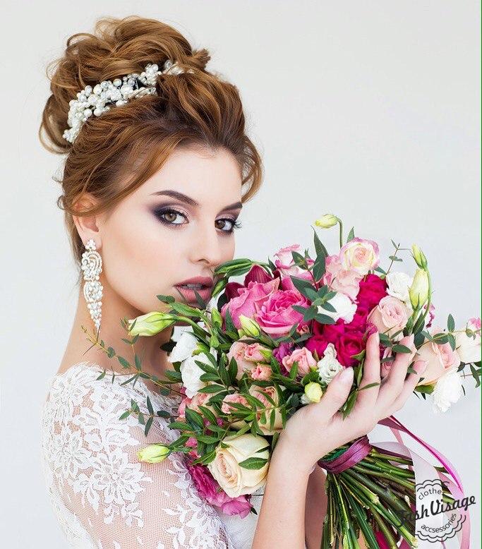 Свадебный образ (макияж и прическа) в Сочи, Адлер