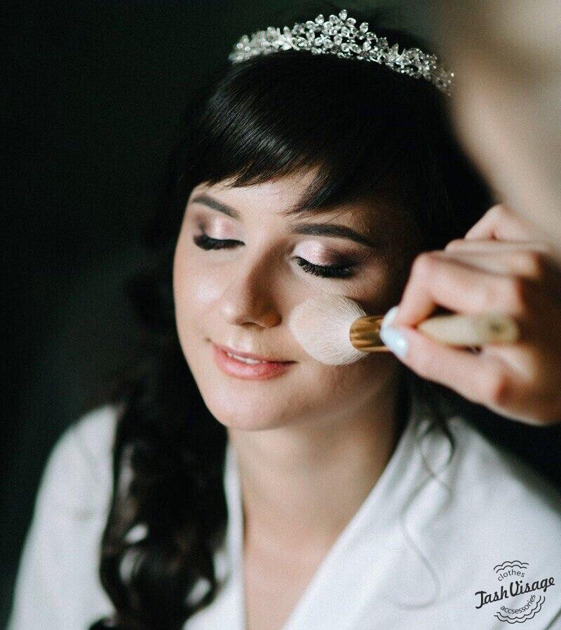 Пробный Свадебный образ (макияж и прическа) в студии Tash Visage