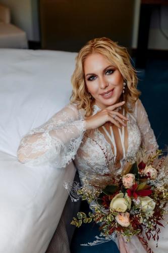 Образ невесты макияж и прическа Сочи